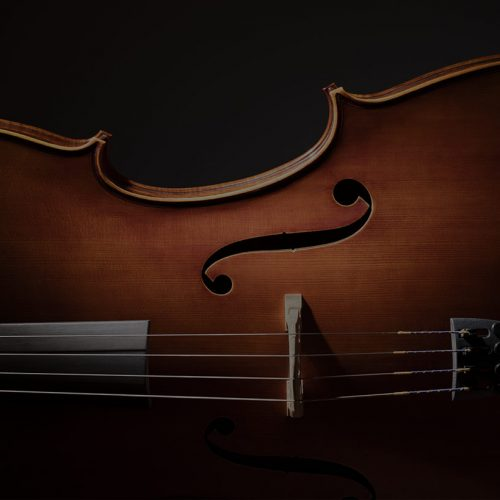 Cello from side